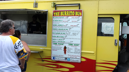 Phdelicious Reviews The Burrito Bus Columbus Ohio